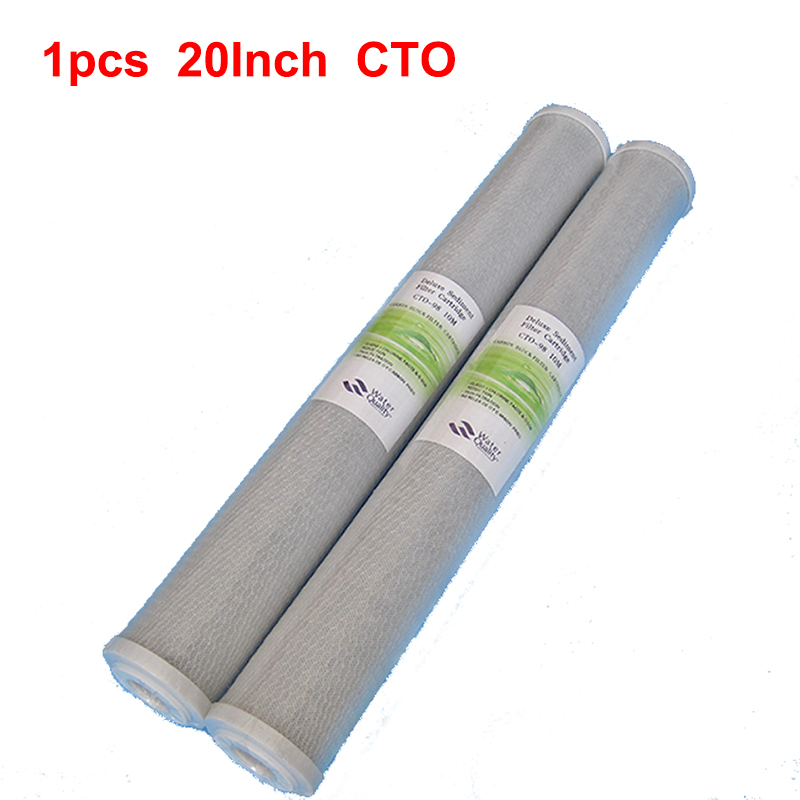 Water Filter Parts 20 Inch Water Purifier Carbon Block CTO Water Filter ACTIVATED CARBON TASTE CARBON FILTER REVERSE OSMOSIS