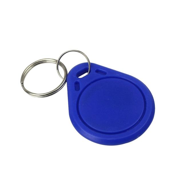 10pcs. 13.56MHz RFID IC Key Tags Keyfobs Token NFC TAG Keychain Access Control Cards