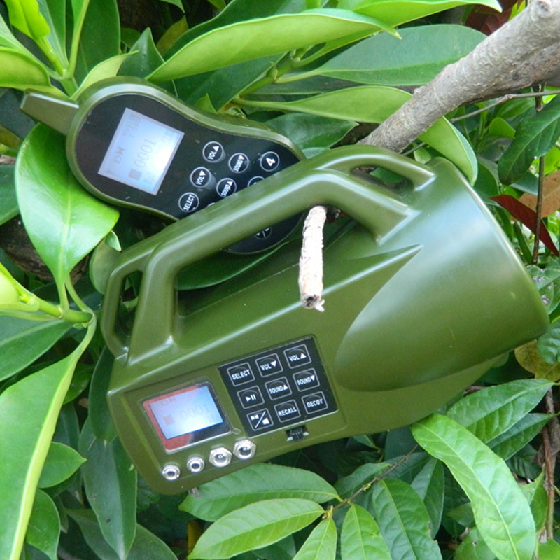 CP-550 Electronics 400 Sounds Hunting Bird Caller Sounds Player Hunting Decoy 10W Speaker Remote Control Animal Caller 2016 new cp 390 outdoor hunting birds caller hunting mp3 player 35w loud speaker decoy built in 110 sounds 130db bird sounds