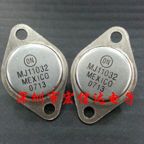 Free shipping MJ11032 MJ11032G 50A 120V NPN Darlington  transistor large current gold seal Original Product kd621k30 prx 300a1000v 2 element darlington module