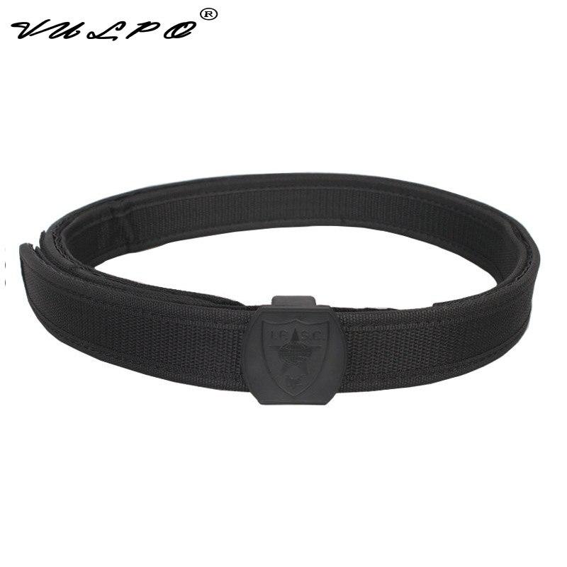 VULPO Tactical IPSC Shooting Belt Outdoor Belt Waist Support 1 5 inch shooting belt in Waist Support from Sports Entertainment