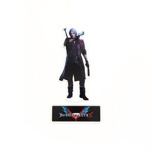 Image 3 - Amour merci diable Cry 5 Dante DMC acrylique support figure modèle support de plaque gâteau topper anime jeu