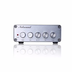 Image 4 - Nobsound Mini HiFi 2.1 Channel TPA3116D2 Digital Power Amplifier Hi Fi Stereo Audio Bass Amp 2*50W Subwoofer