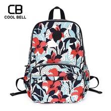 Cute Print School Backpack For Girls Teenger Women School Bags For Girls Schoolbag Nylon Waterproof Laptop Backpack 2016 new cute 3d panda print schoolbag teenager nylon fabric backpack girls book bags for women mochila packbag kids van owl