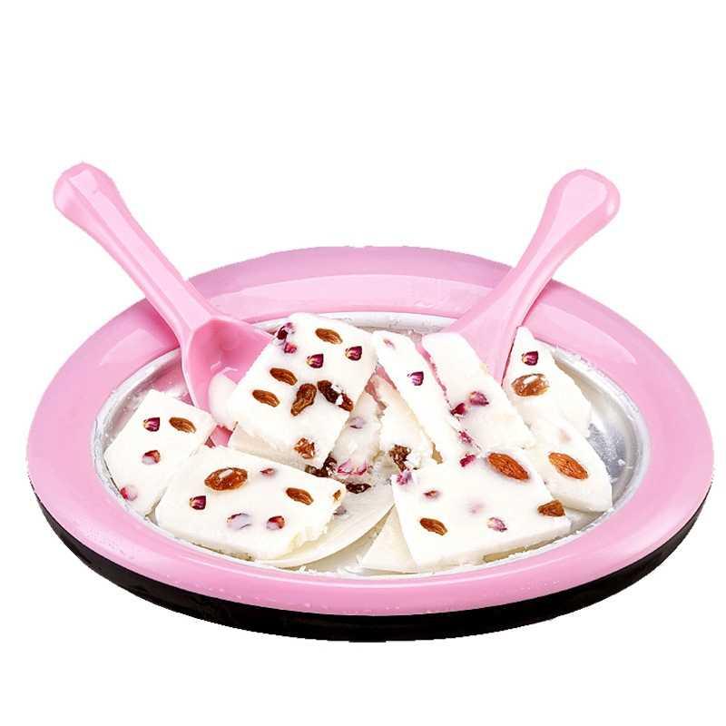 מטוגן קרח קוביות Diy גלידת יצרנית לילדים ביתי מטוגן מכונה יוגורט Diy מיני גלידת ארטיק עובש