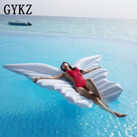 2019 Giant Angel wings Inflatable Pool Float Inflatable Pool Float For Child&Adult Water Toys Lounger Floating Raft Swim Ring
