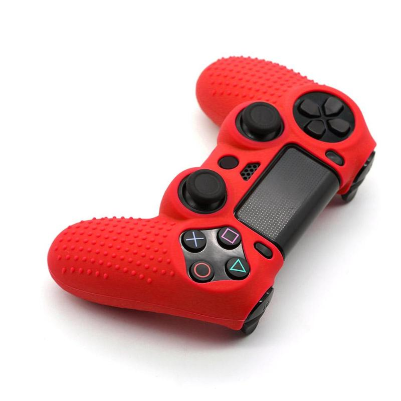 Non-slip Soft Silicone Protective Joystick Thumbstick Grip Caps Protective Skin Cover <font><b>Case</b></font> for <font><b>PS4</b></font> <font><b>PS4</b></font> PRO Game <font><b>Controller</b></font> Hot image