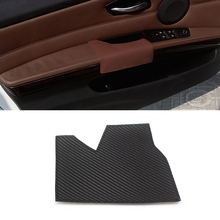 For BMW 3 Series E90 X5 E70 2007 - 2011 Microfiber Leather Car Interior Driving Side Door Handle Armrest Panel Pull Trim Cover car door armrest panel microfiber leather for bmw 5 series f18 2010 2017