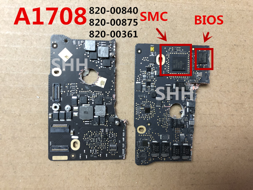 2016 Years 820-00875-A 820-00875 820-00840 820-00875 Defective Logic Board For A1708 Repair  SMC