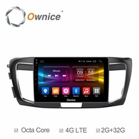 For Honda Accord 2014 2015 2016 Vehicle Android DVD Radio Video Multimedia Player Car GPS Navigation