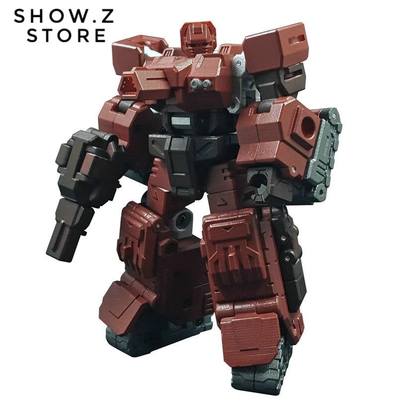 [Show.Z Store] Iron Factory IF EX-28 EX28 Burning Slug Warpath Transformation Action Figure