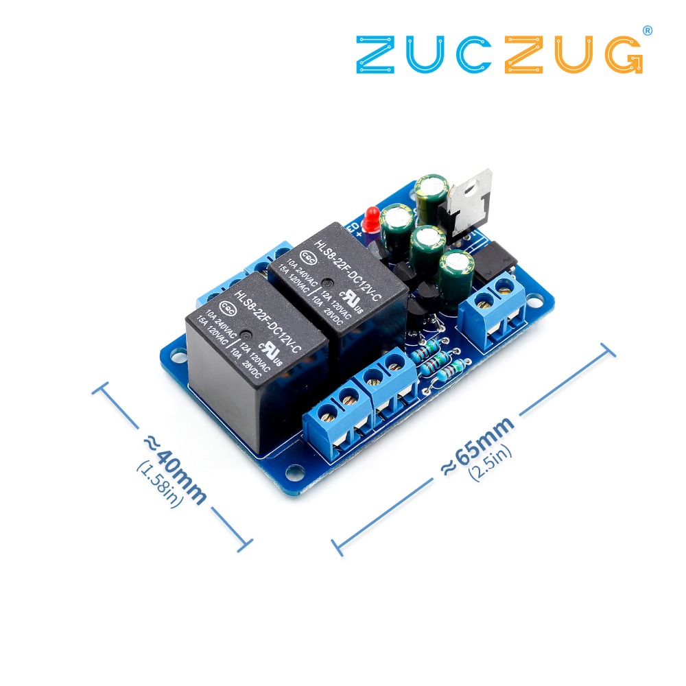 Speaker Protection Board Component Audio Amplifier DIY Boot Delay DC Protect DIY Kit For Stereo Amplifier Double
