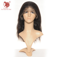 FYNHA 360 Lace Frontal Wig Body Wave Wig Human Hair Wigs Pre Plucked Brazilian Virgin Hair 150 Density Lightly Bleached Knots