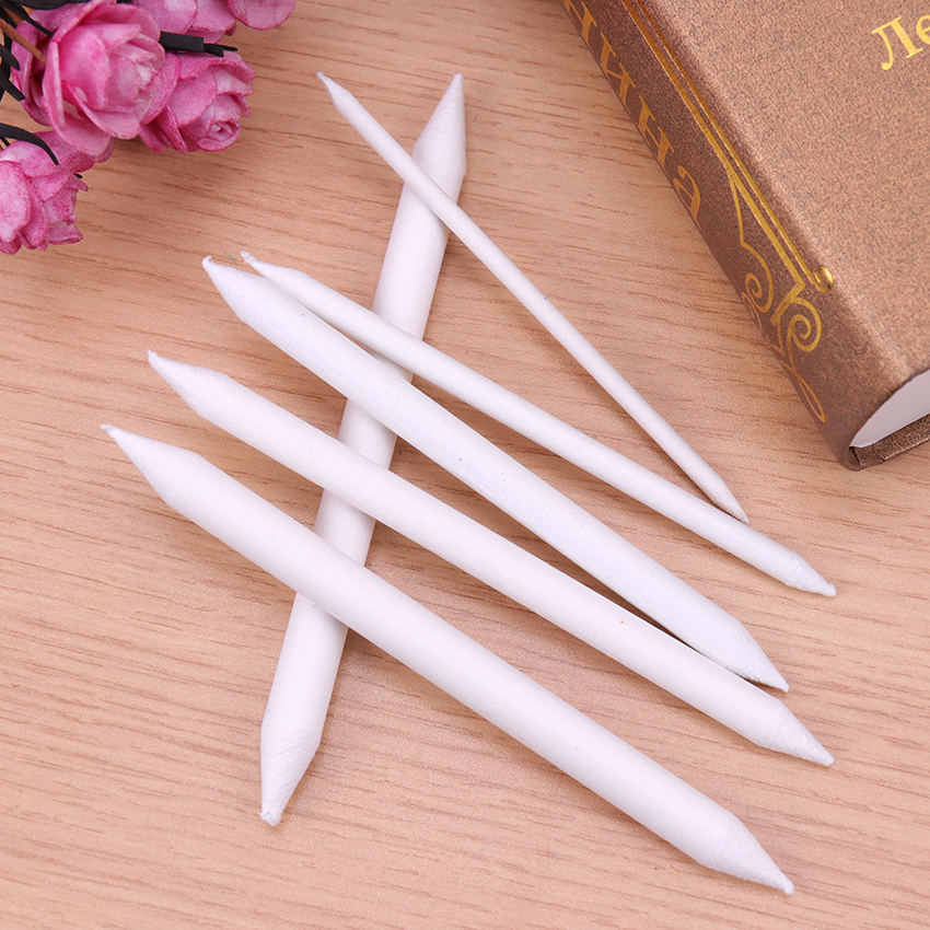 6PCs  Blending Smudge Tortillon Stump Sketch 6 Sizes Art Drawing Tool Pastel LP