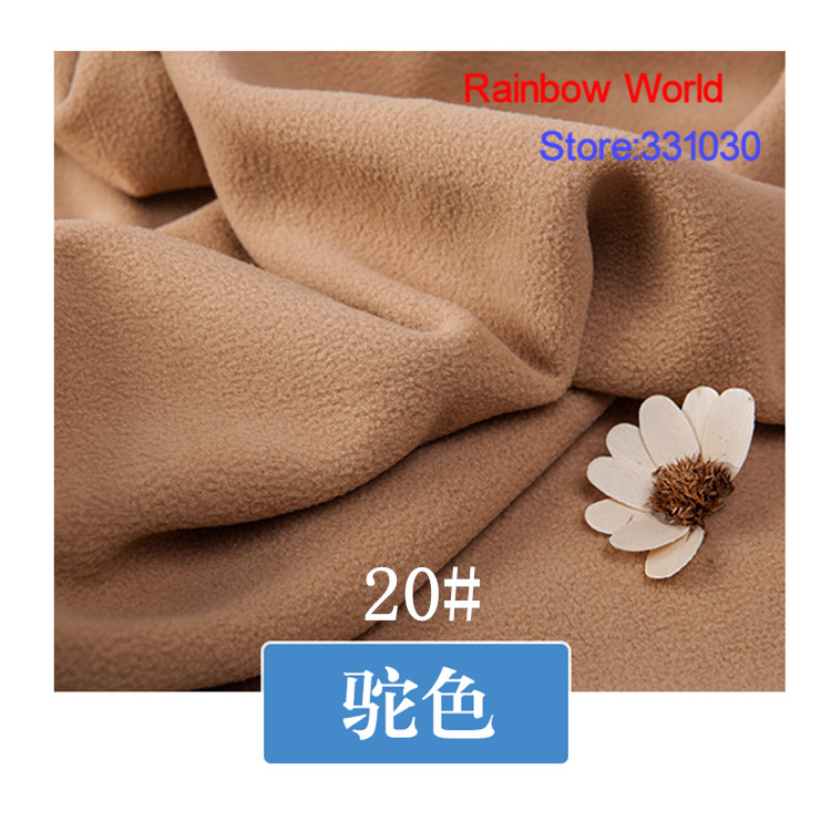 Arts,crafts & Sewing 27# Deep Brown 1 Meter Soft Brushed Polar Fleece Fabric For Diy Colthes Stuffed Toys Blanket Bedsheet Cushion Material