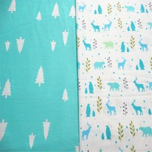 Polar Cotton Fabric Patchwork Cartoon Tissue Cloth Of Handmade DIY Quilting Sewing Baby&Children Sheets Dress Material 2pcs/Lot