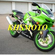 ABS Greenl Fairing Kit For KAWASAKI Ninja ZX6R 98 99 ZX 6R 636
