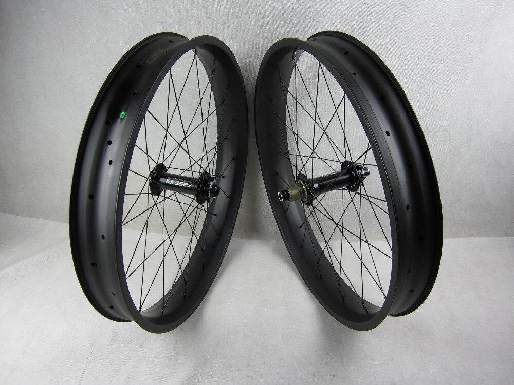 free shipping 2016 FSS100C carbon 26er fat bike wheels,tubeless 26er fat bike wheels fat bikes wheelste