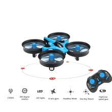 Mini Quadcopter 6 axis Rc Helicopter Blade Inductrix Quadrocopter Flying Drone Drons Toys JJRC H36 Best
