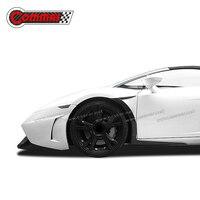 Углеродное волокно Автозапчасти для Gallardo LP550 LP560 LP570 крылья отделка полосы углерода украшения автомобиля модификации