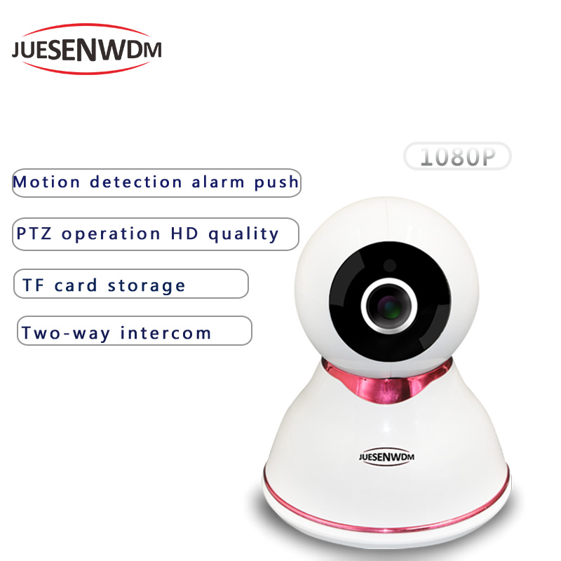 JUESENWDM 1080P CCTV Face Recognition Wifi IP Camera PTZ Wireless Network Surveillance Security Wi-fi Smart Home Video домик когтеточка для кошки недорого москва