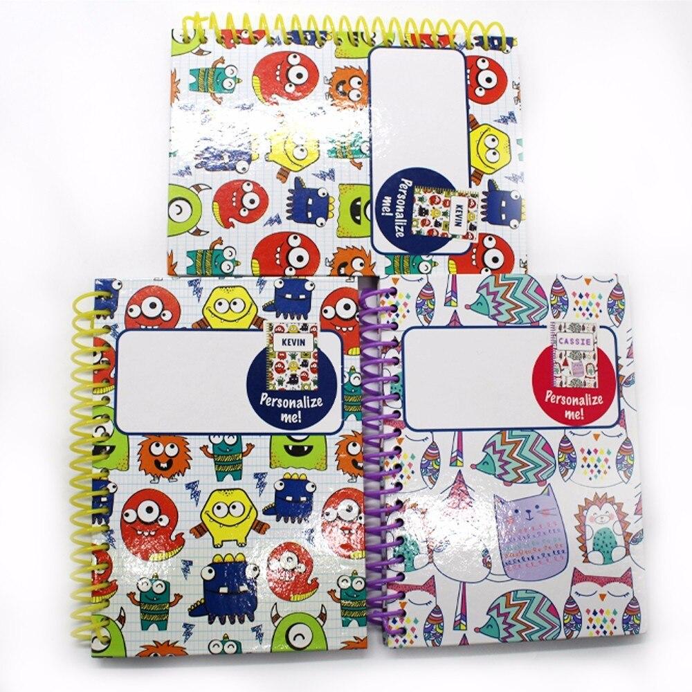 1 ks Poznámkový blok roztomilý čtyři různé vzory kawaii mini - Bloky a záznamní knihy - Fotografie 1