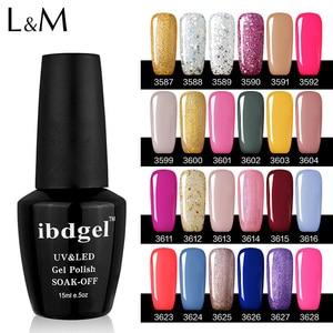 Image 3 - Ibdgel pulidor de uñas brillante, esmalte de uñas en Gel UV bonito, 15ml, 12 Uds.