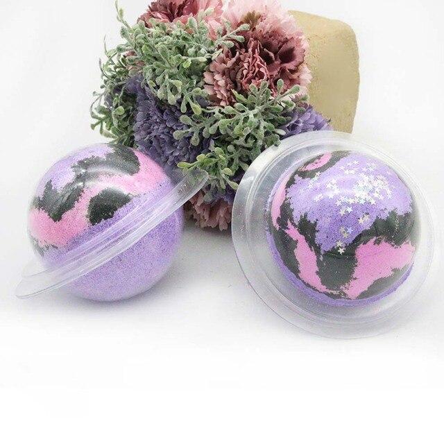 Women Bath Star Sky Lavender Scented Spa Shower Large Size Handmade Organic Spa Ideal  For Bath Salt Gift