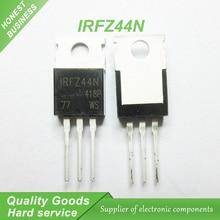 20 pcs IRFZ44NPBF IRFZ44N IRFZ44 MOSFET MOSFT 55 V 41A 17.5 mOhm 42nC TO-220 original novo