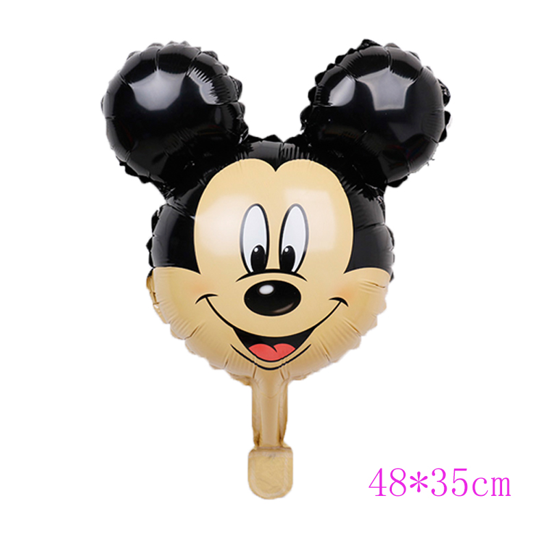 Mickey Mouse Ballon Luftballon Party Dekoration Foil Kinder Birthday Geburtstag