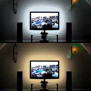 Image 1 - USB LED Night Lights DC5V USB Kabel 50 CM 1 M 2 M 3 M 4 M 5 M Flexibele lampara LED strip licht lamp SMD3528 voor TV/PC/Laptop Lamp