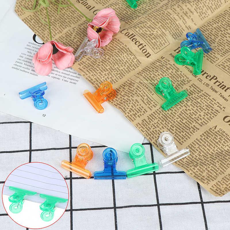 5 Pcs Jari Ekstensi Cepat Bangunan Cetakan Orange, Biru, Putih hijau Alat Nail Art Tips Kuku Dual Bentuk Kuku Tips Klip