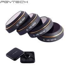 PGYTECH ND4 ND8 ND16 ND32 HD Lens Filters Set Neutral Density Filter for DJI MAVIC Pro Drone Quadcopter