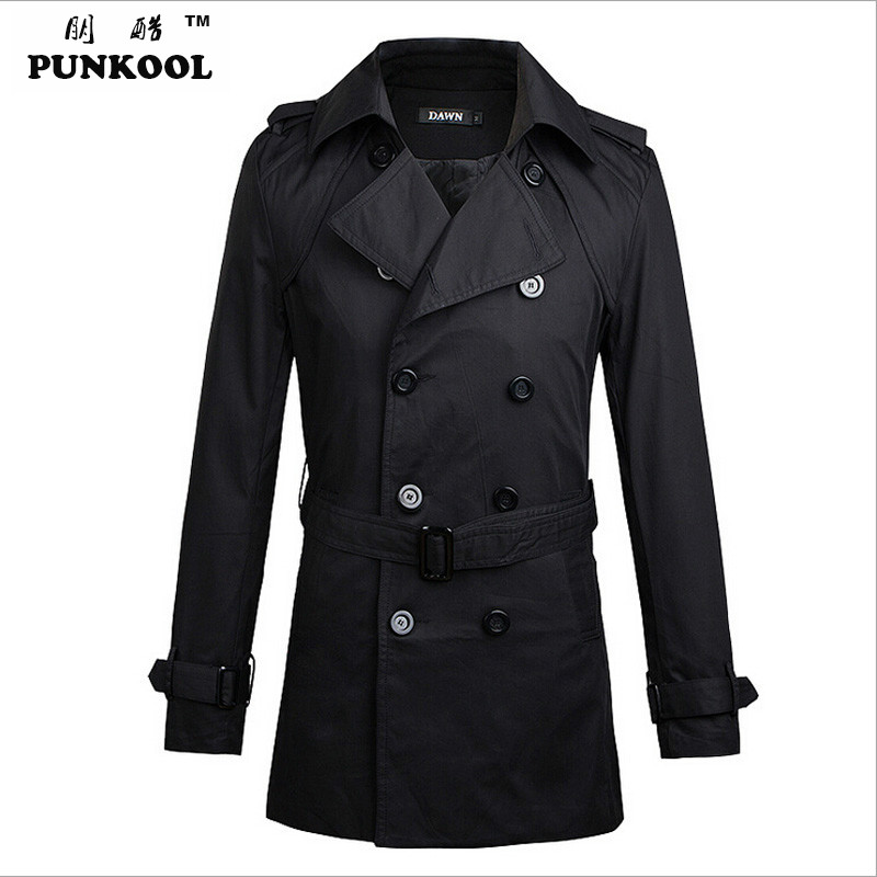 Popular Trench Coats with Belt Men-Buy Cheap Trench Coats with ...