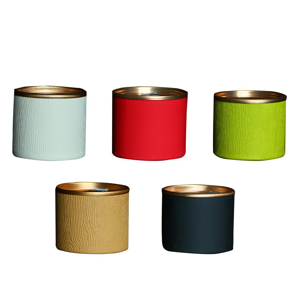 Disposable Aluminum Foil Paper Cans Small Tea Storage Cans Portable Travel Dried Fruit Candy Snacks Sealed Piggy Bank in Storage Bottles Jars from Home Garden