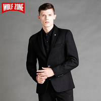2017 Top Fashion Casual Slim Fit Blazer Brand Clothing Men Blazers Autumn Mens Jacket Winter Suit Single Button Wedding Dress
