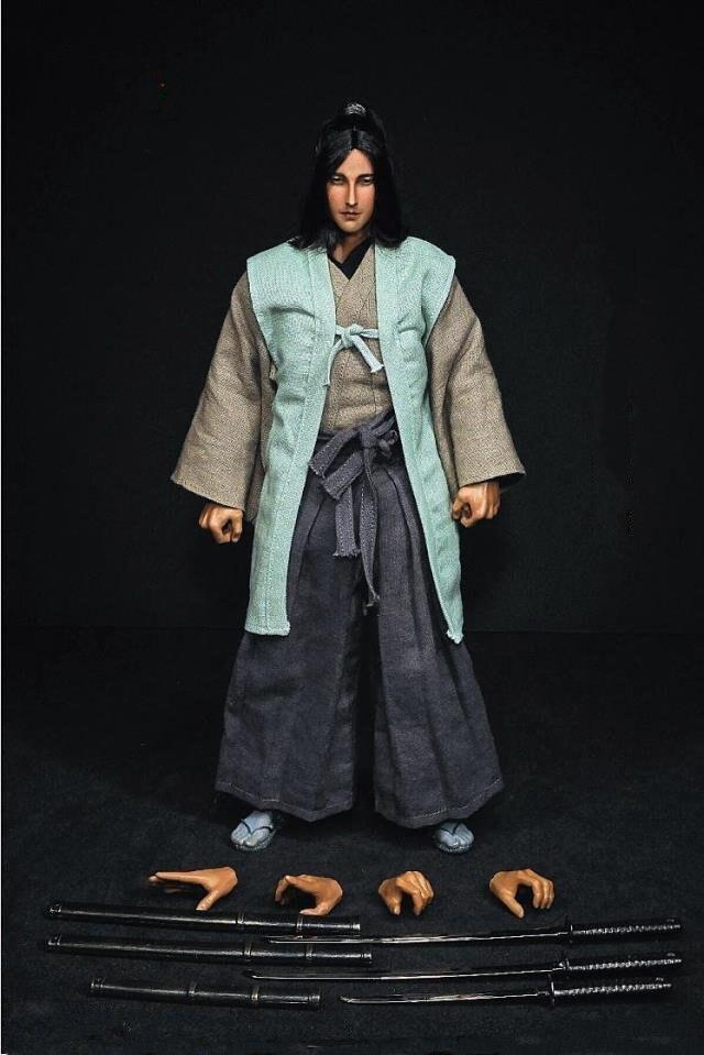 1/6 Japanese Samurai Ninja Sasaki Kojiro 12 Collectible Action Figure Toys Gifts Collections 1/6 Japanese Samurai Ninja Sasaki Kojiro 12 Collectible Action Figure Toys Gifts Collections