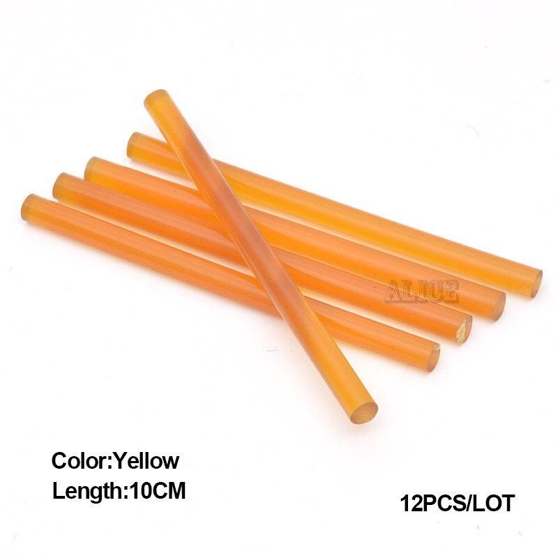 Коричневый лидер Клеевые карандаши 10 см волос FUSION Клей кератин Клеевые карандаши для волос