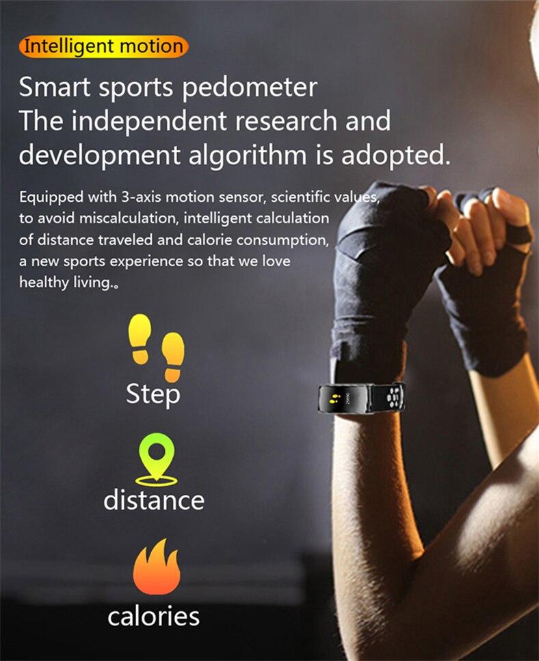 monitor de sono fitness rastreador pressão arterial
