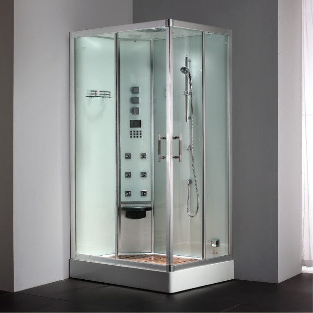 2017 luxe stoom douchewand met gehard glas badkamer stoom ...