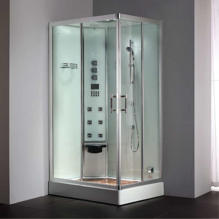 2017 luxury steam shower enclosure with tempered glass bathroom ...