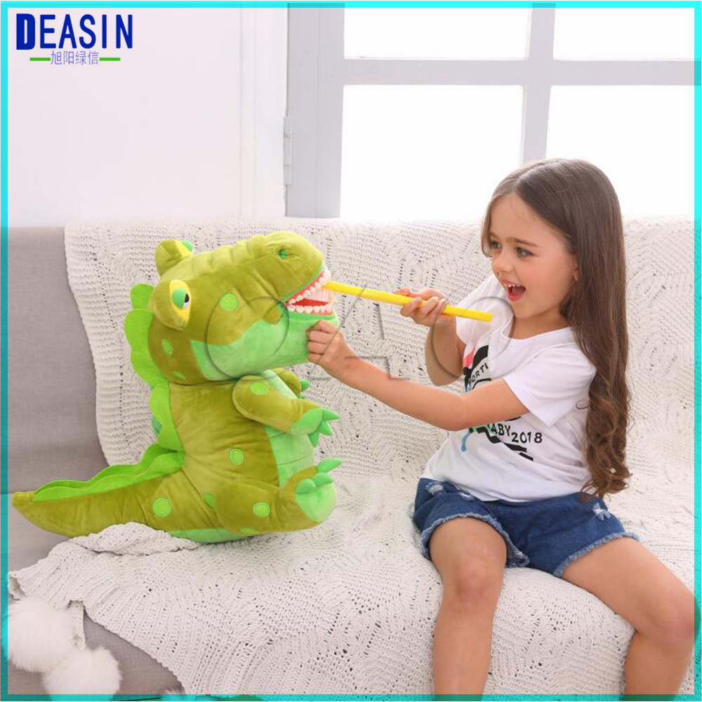 Early education brushing teeth doll Dental Clinic gift animals pillow ornament-in Teeth Whitening from Beauty & Health    1