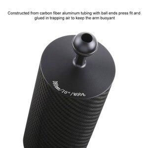 Image 4 - PULUZ Carbon Faser Float Auftrieb Aquatische Arm Dual Ball Schwimm Arm Tauchen Kamera Unterwasser Tauchen Tablett für Gopro/Smartphones