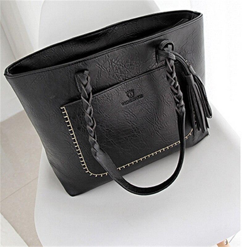 ФОТО New handbag fringed handbag large bag retro personality large capacity shoulder bag handbag wholesale HOT free shipping