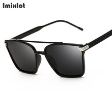Imixlot Fashion Vintage Sunglasses For Women Retro Square Sun Glasses Male Polarized Sunglasses Men Glasses Female Shades UV400