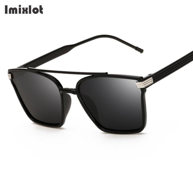 Imixlot Moda óculos de Sol Do Vintage Para Mulheres Retro Quadrados Óculos  de Sol Masculino Óculos Polarizados Óculos De Sol Dos Homens Óculos  Femininos ... 07af7a3445