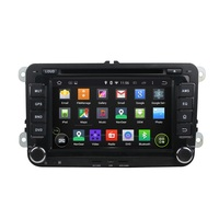 7 Inch Android 4 4 4 Dual Quad Core Car DVD Player GPS For VW For