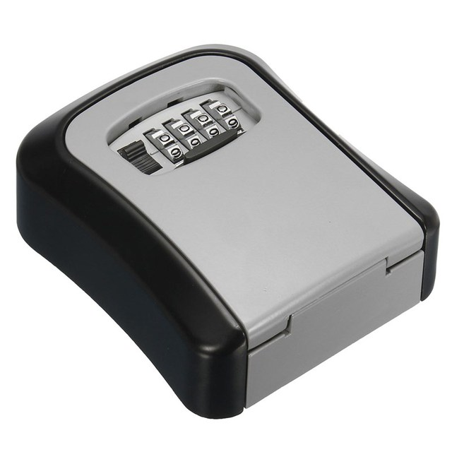 US $17 29 30% OFF Aliexpress com : Buy Lock Key Safe Box Outdoor Wall Mount  Combination Password Lock Hidden Keys Storage Box Security Safes For Home