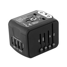 Universal Travel Charger Adapter with 4 USB Ports