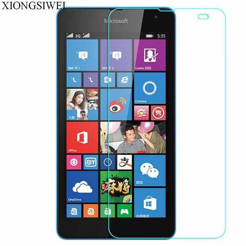 2 pièces verre trempé pour Nokia Lumia 535 Film de protection d'écran verre trempé de protection pour Microsoft Lumia 535 double Sim N535